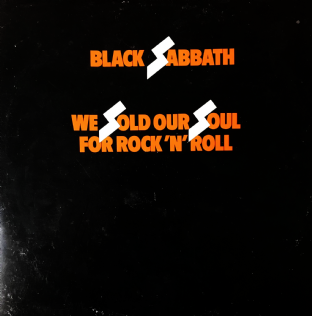 Black Sabbath - We Sold Our Soul For Rock 'N' Roll (LP) (VG/G++)